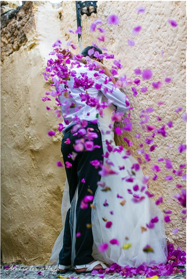 photographer in santorini alexander hadji