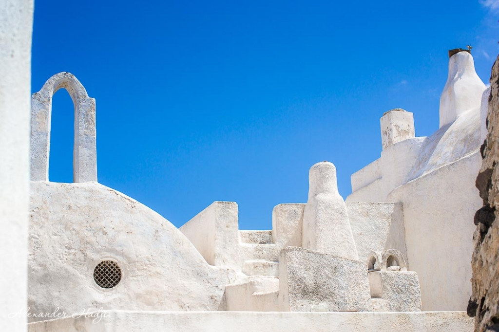 Santorini things to do Pyrgos