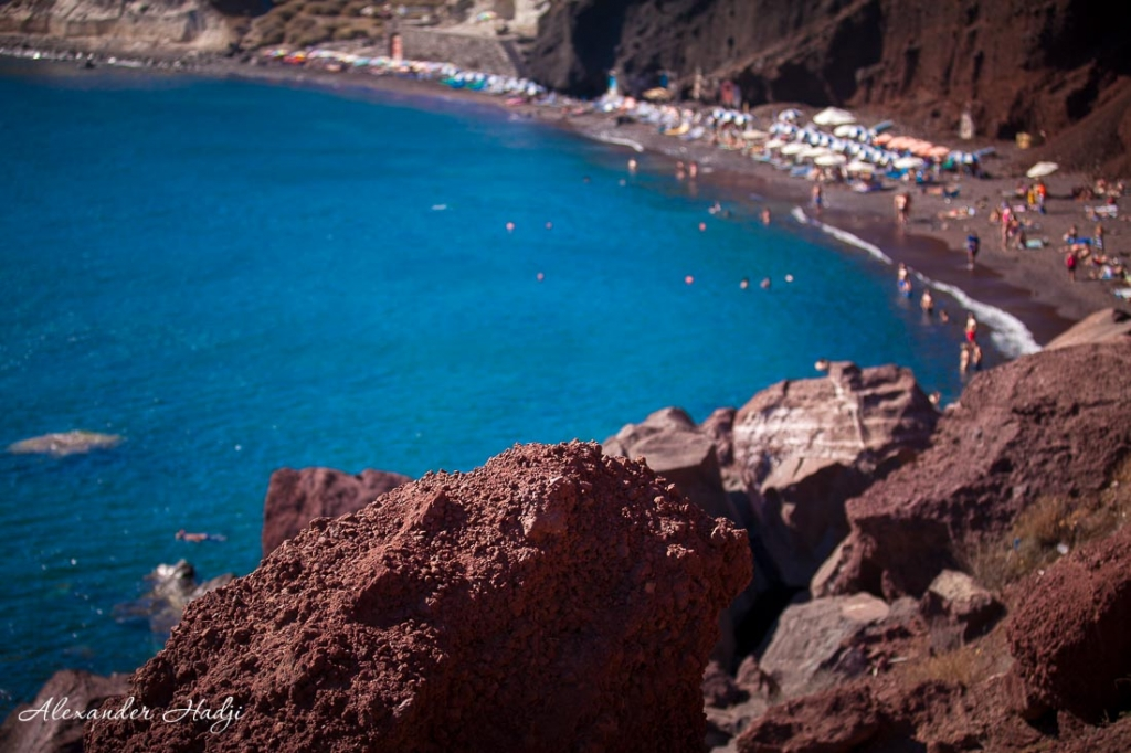 Things to do in Santorini red beach