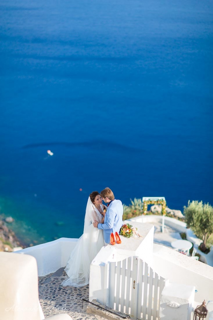 Santorini wedding Andronis Luxury Suites