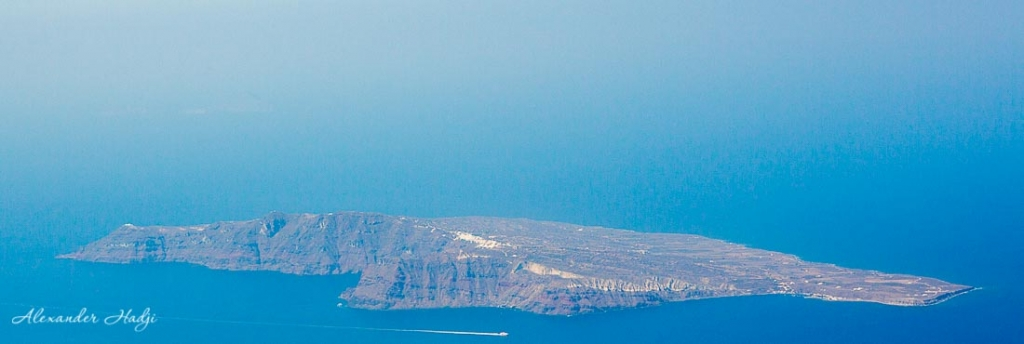 Santorini things to do Therasia island