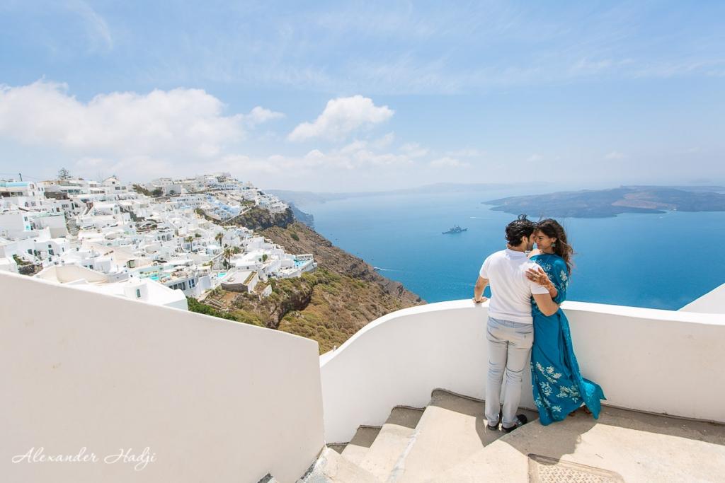 Santorini photo shoot