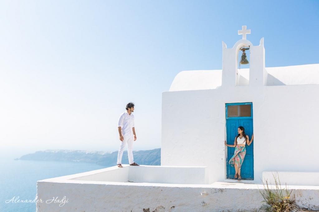 Santorini honeymoon photography