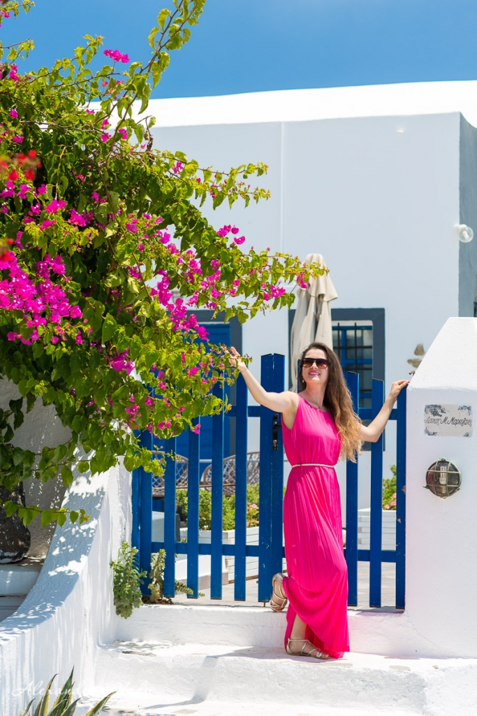 Santorini individual photoshoot