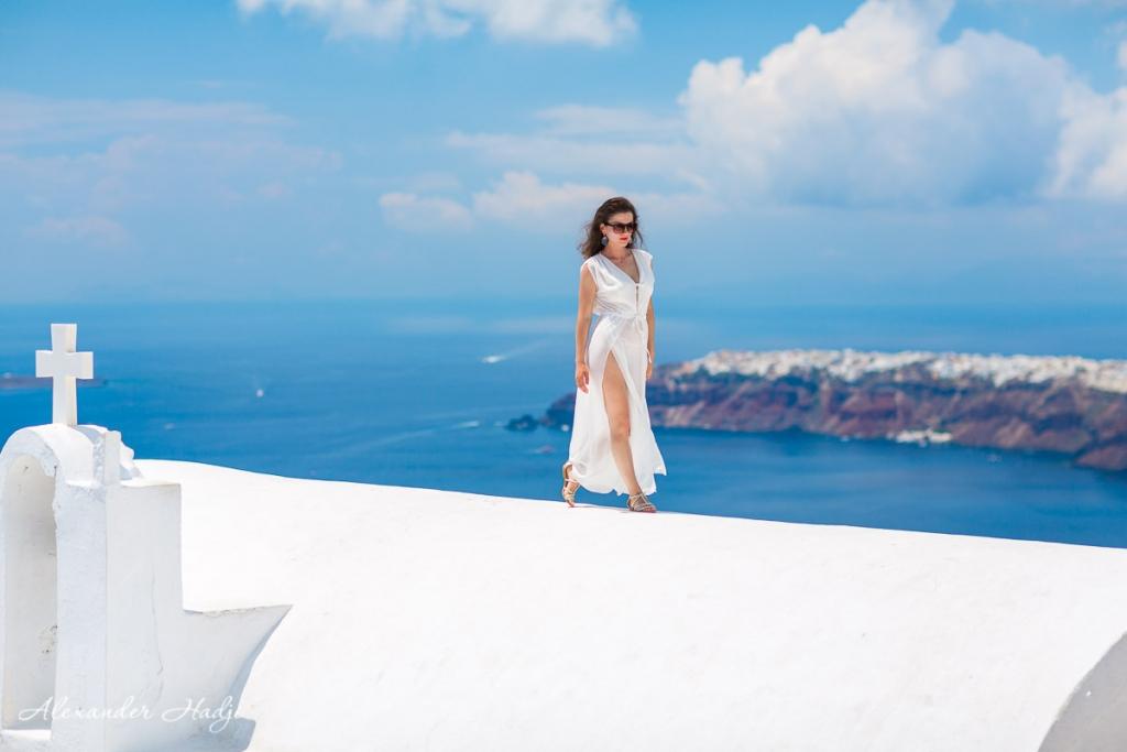 Индивидуальная фотосессия на Санторини